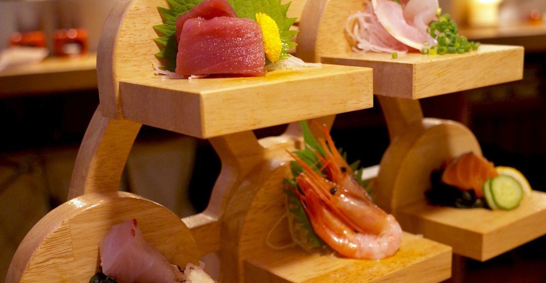 魚's男名物「刺身観覧車」