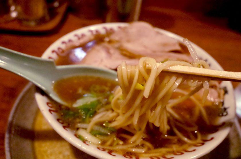 尾張ラーメン第一旭錦店の麺