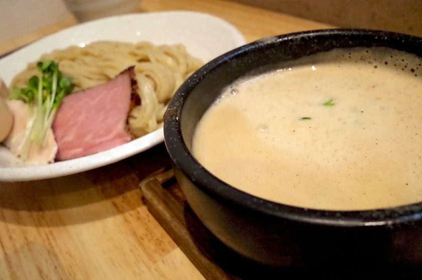 麺家獅子丸のつけ麺