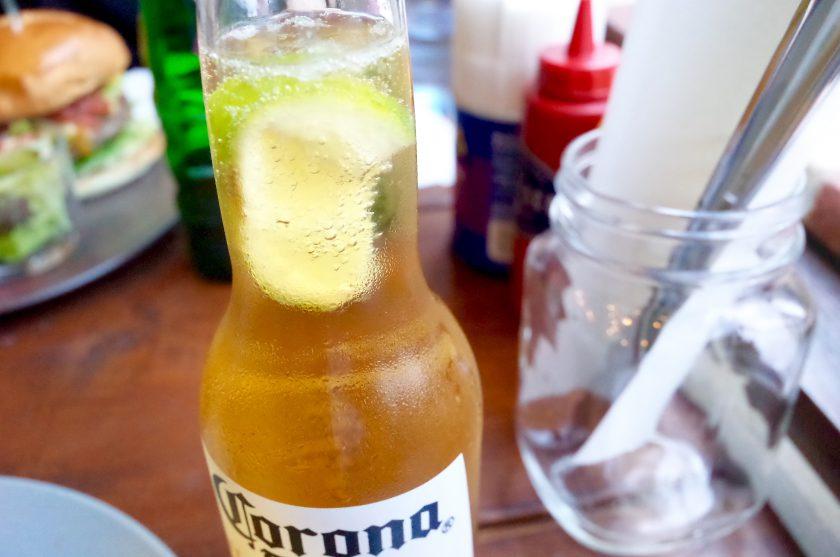 ザリスコで飲んだコロナビール