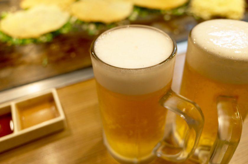 味乃家(あじのや)でビール
