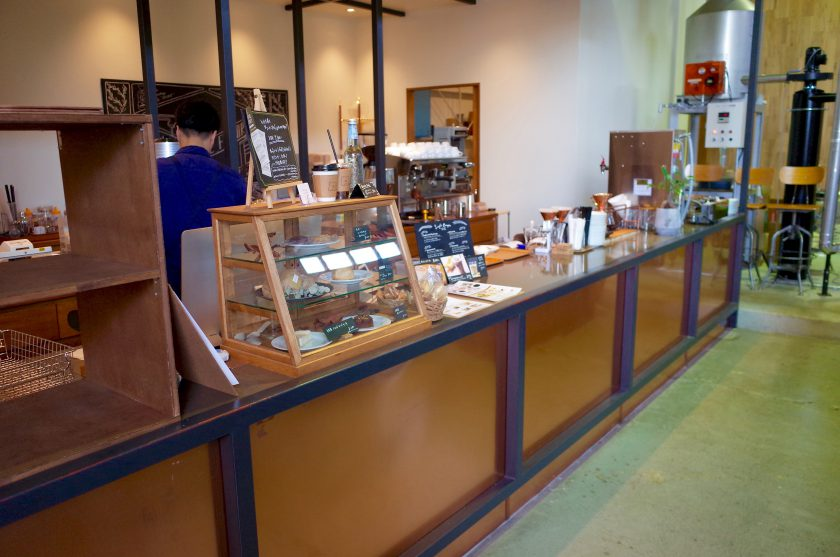 SIENA COFFEE FACTORYのカウンター