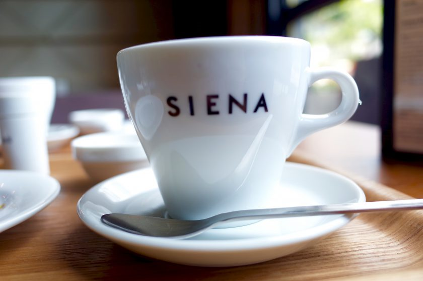 SIENA COFFEE FACTORYのコーヒー