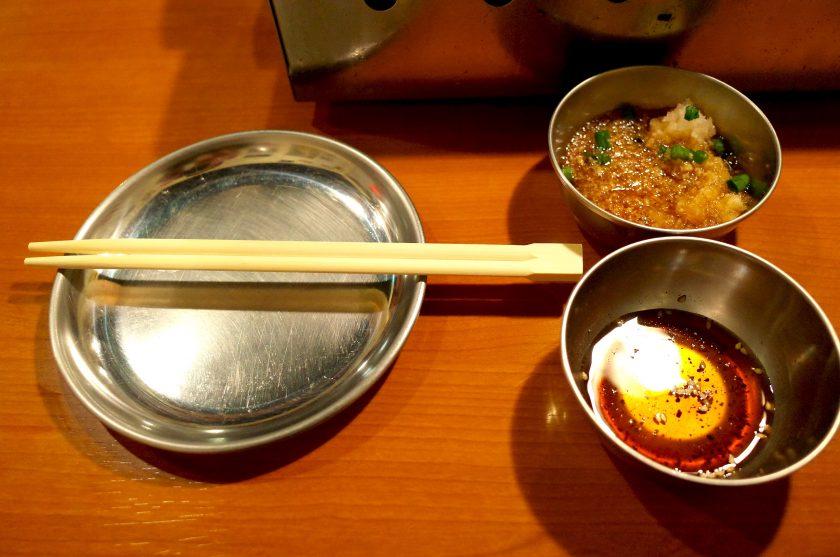 せいごのタレと箸