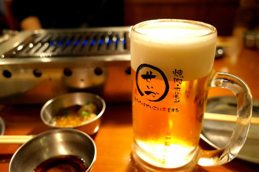せいごの生ビール