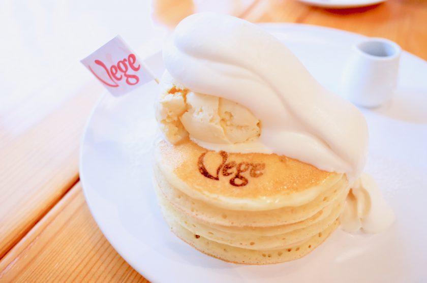 Vege(ベジ)のスペシャルパンケーキ