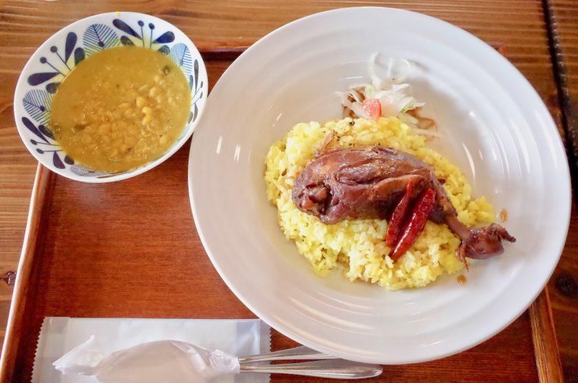 南洋の父サウスのスパイシーチキン&豆カレー