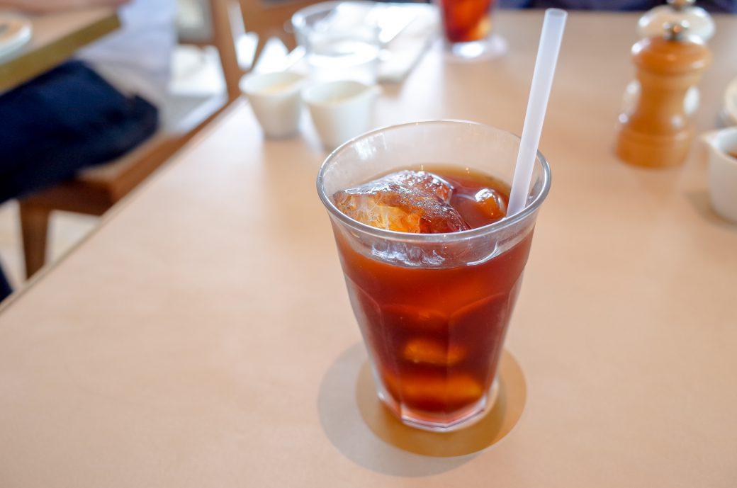 表参道billsのアイスコーヒー