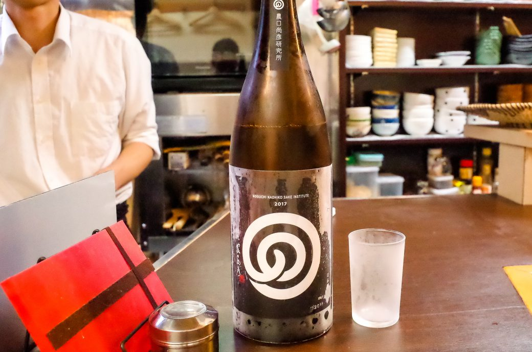てんぷらとおばんざいいまいで飲んだ農口尚彦研究所の日本酒