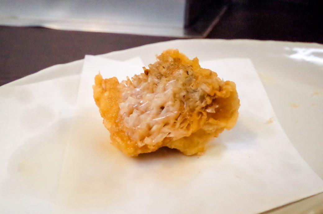 てんぷらとおばんざいいまいの甘鯛の天ぷら