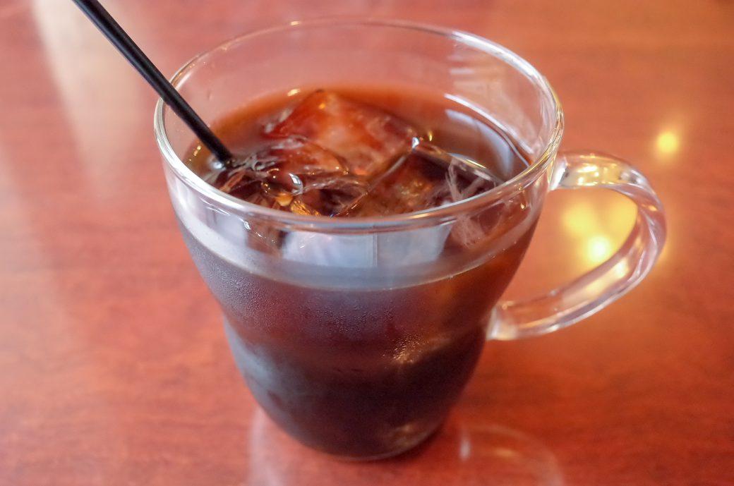 珈琲 門(もん)のアイスコーヒー