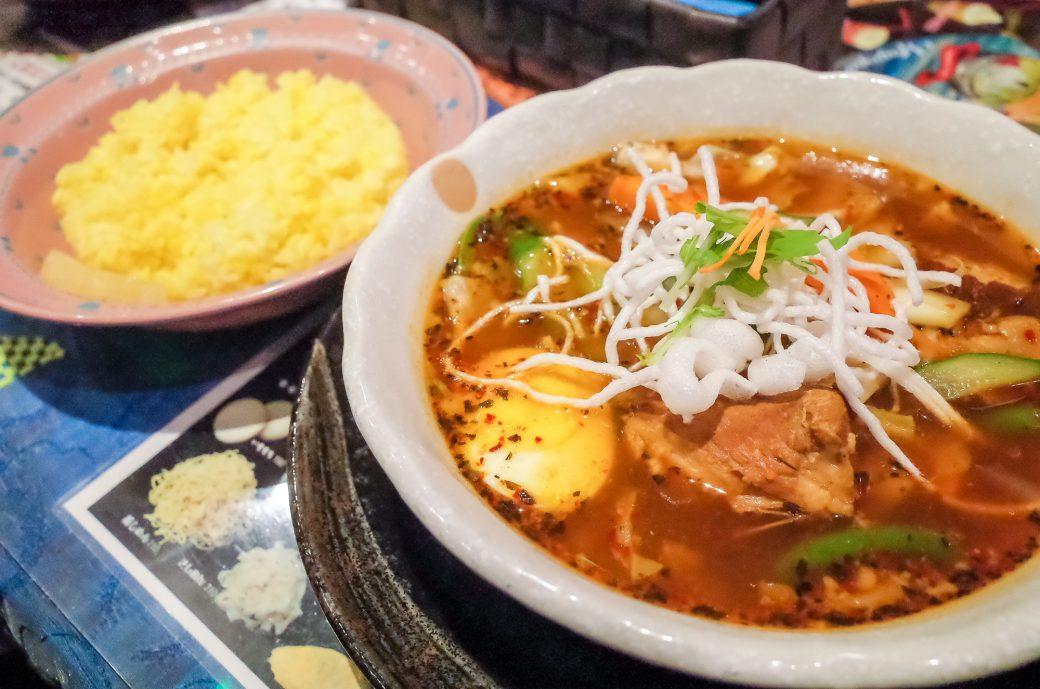 マジックスパイス名古屋店のスープカレー極楽