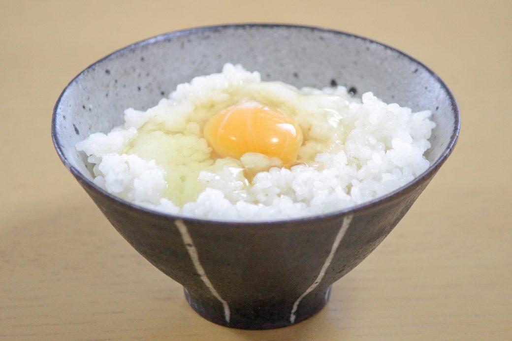 煎り酒で卵かけご飯