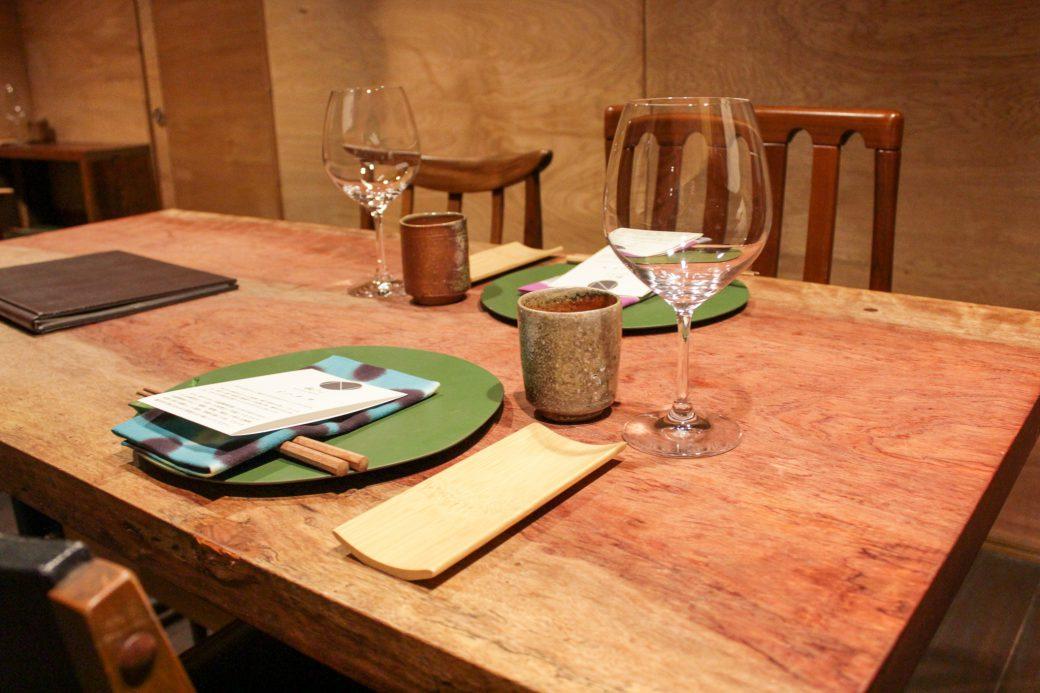 和N(わえぬ) テーブル