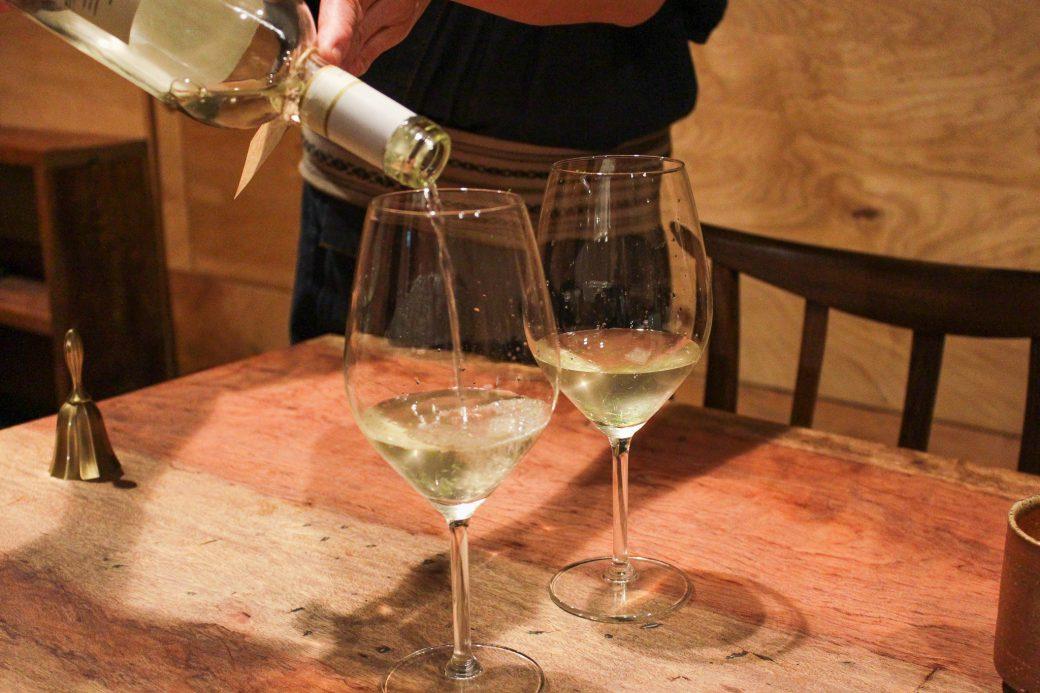 和N(わえぬ)の白ワインコンブチャ割