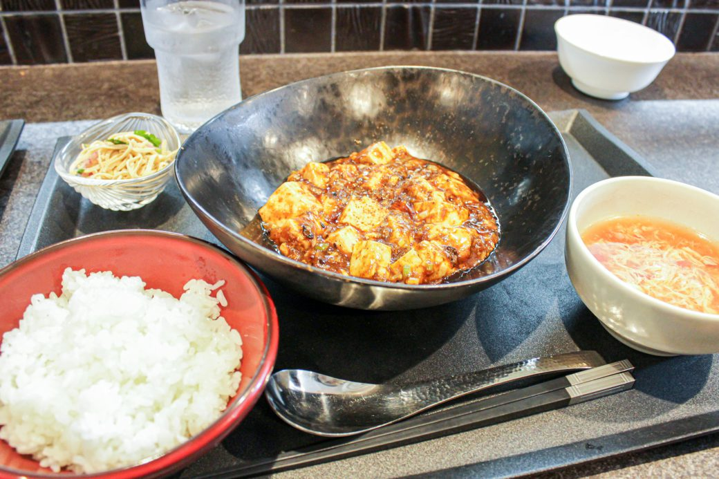 小菜一碟(シャオツァイイーデェ)の麻婆豆腐ランチセット